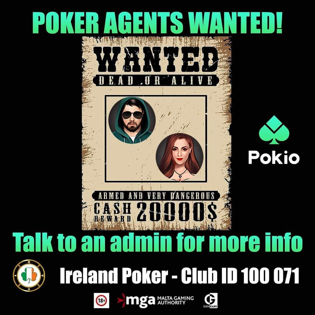 Poker Agents Wanted!